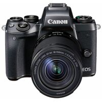 Für weitere Info hier klicken. Artikel: Canon EOS M5 mit EF-M 1:3,5-6,3/18-150 IS STM + Mount Adapter -Second Hand-