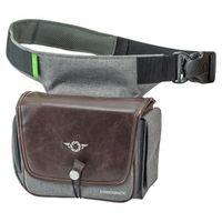 Für weitere Info hier klicken. Artikel: Cosyspeed Kameratasche mit Hüftgürtel Camslinger Streetomatic+ Fototasche für System- und DSLR-Kameras + Zoomobjektiv Braun/Grau