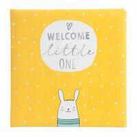 Für weitere Info hier klicken. Artikel: goldbuch Babyalbum little one 60 weiße Seiten gelb 250x250x40 mm