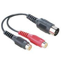 Für weitere Info hier klicken. Artikel: Hama Adapter 2xCinch-Kup. - 5P-DIN