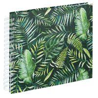 Für weitere Info hier klicken. Artikel: Hama Spiral-Album Greenery, 28x24 cm, 50 weiße Seiten
