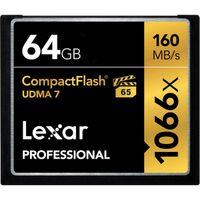 Für weitere Info hier klicken. Artikel: Lexar CF Professional UDMA7 1066x 64 GB