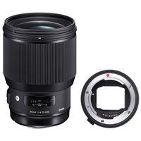 Für weitere Info hier klicken. Artikel: Sigma 85mm f/1,4 DG HSM A Canon EF + Sigma Mount Converter MC-11 Sony FE-Mount