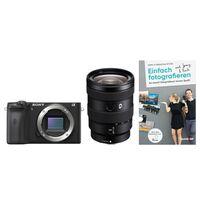 Für weitere Info hier klicken. Artikel: Sony Alpha 6600 (ILCE-6600) + SEL 16-55mm f/2,8 G + Buch Einfach fotografieren lernen