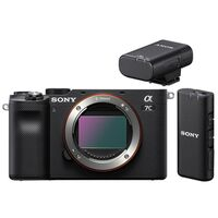 Für weitere Info hier klicken. Artikel: Sony Alpha 7C (ILCE-7C) Gehäuse + Bluetooth Mikrofon ECM-W2BT schwarz