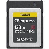 Für weitere Info hier klicken. Artikel: Sony Tough CFexpress Karte Typ B R 1700MB/S W 1480 MB/S 128 GB