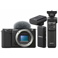 Für weitere Info hier klicken. Artikel: Sony Vlog-Kamera Alpha ZV-E10 + Bluetooth Griff GP-VPT2BT + ECM-W2BT Bluetooth-Mikrofon