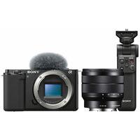 Für weitere Info hier klicken. Artikel: Sony Vlog-Kamera Alpha ZV-E10 + SEL 10-18mm f/4,0 OSS + Bluetooth Griff GP-VPT2BT