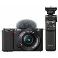 Für weitere Info hier klicken. Artikel: Sony Vlog-Kamera Alpha ZV-E10 + SEL 16-50mm PZ OSS + Bluetooth Griff GP-VPT2BT