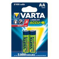 Für weitere Info hier klicken. Artikel: Varta Akku AA Mignon Ready2Use 2100mAh 2er-Pack