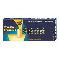 Für weitere Info hier klicken. Artikel: Varta Alkaline Batterie Micro (AAA/LR03) Energy 10er Pack