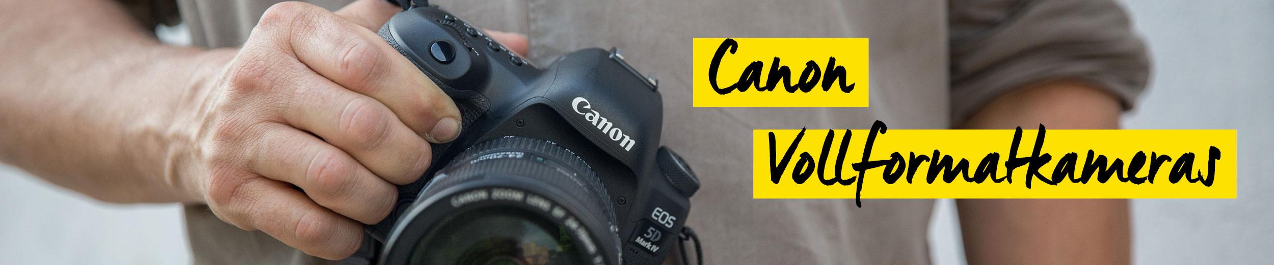 Canon Vollformatkameras