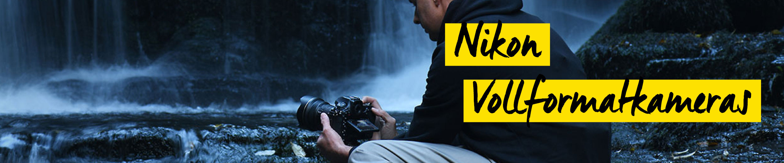 Nikon Vollformatkameras