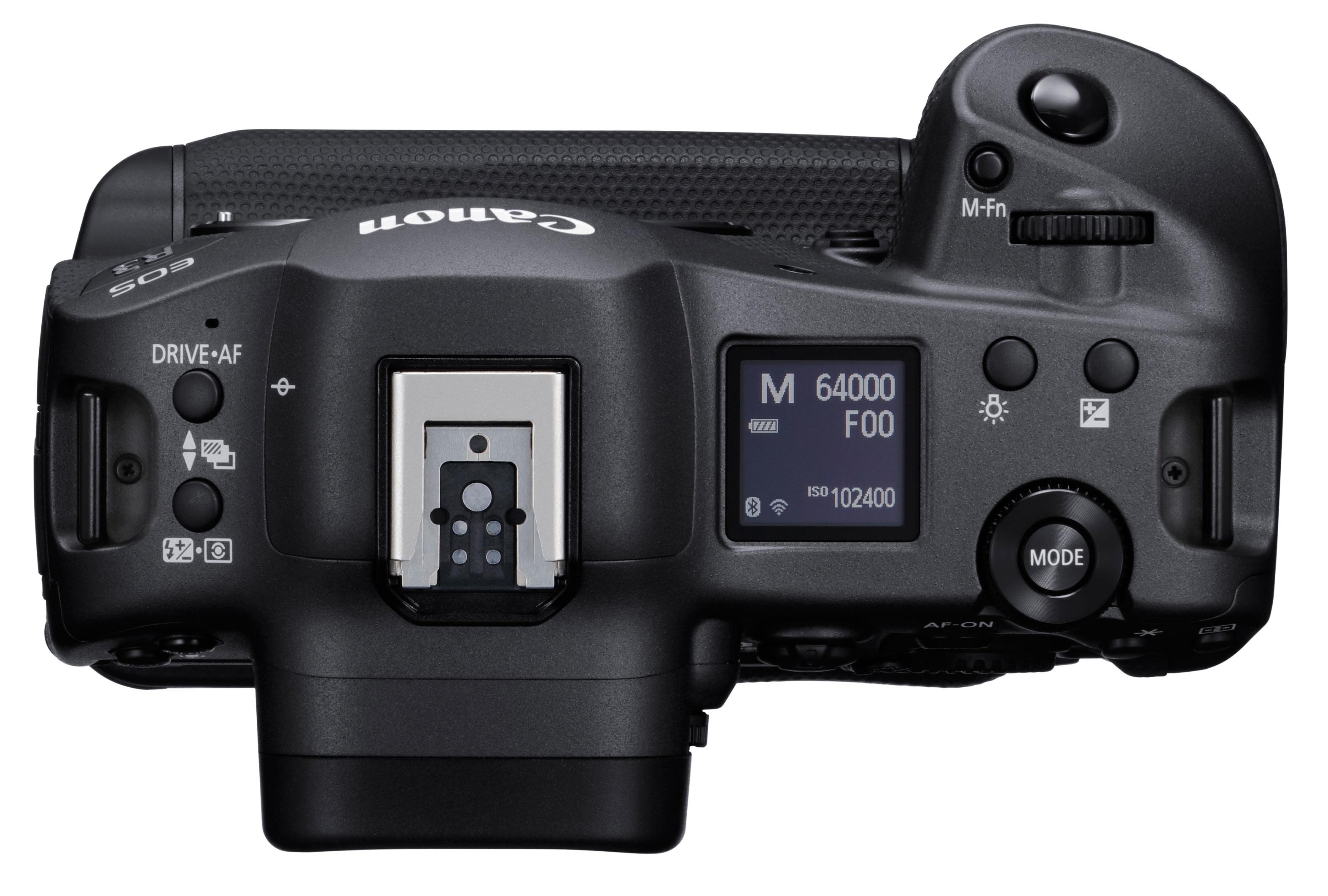 Canon EOS R3 von oben