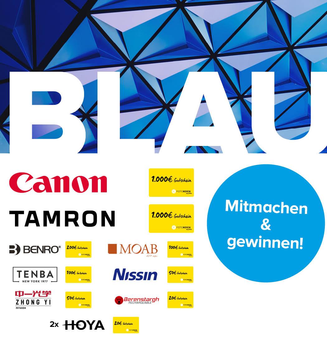Fotowettbewerb Blau