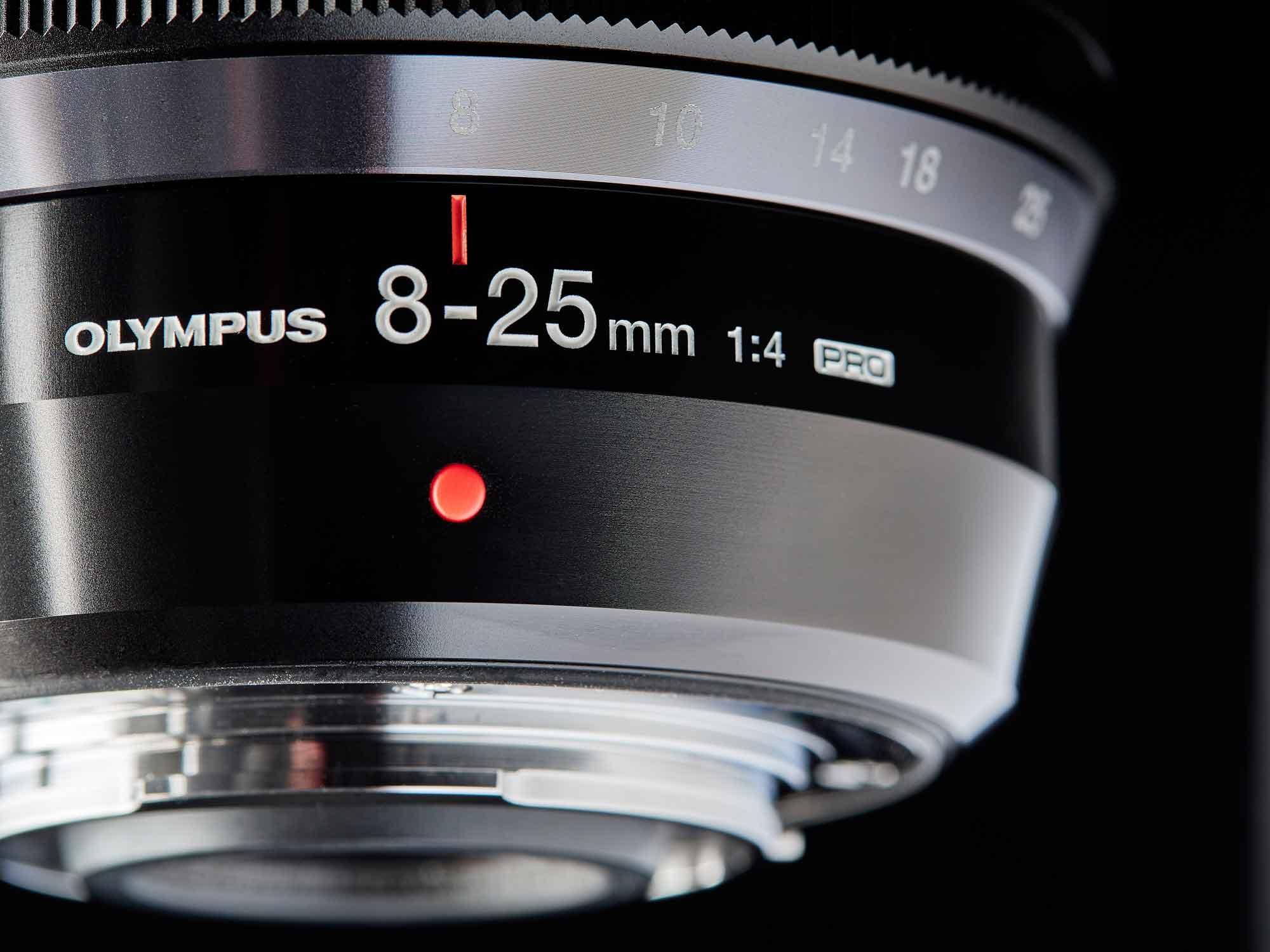 Olympus Weitwinkelobjektiv 8-25mm