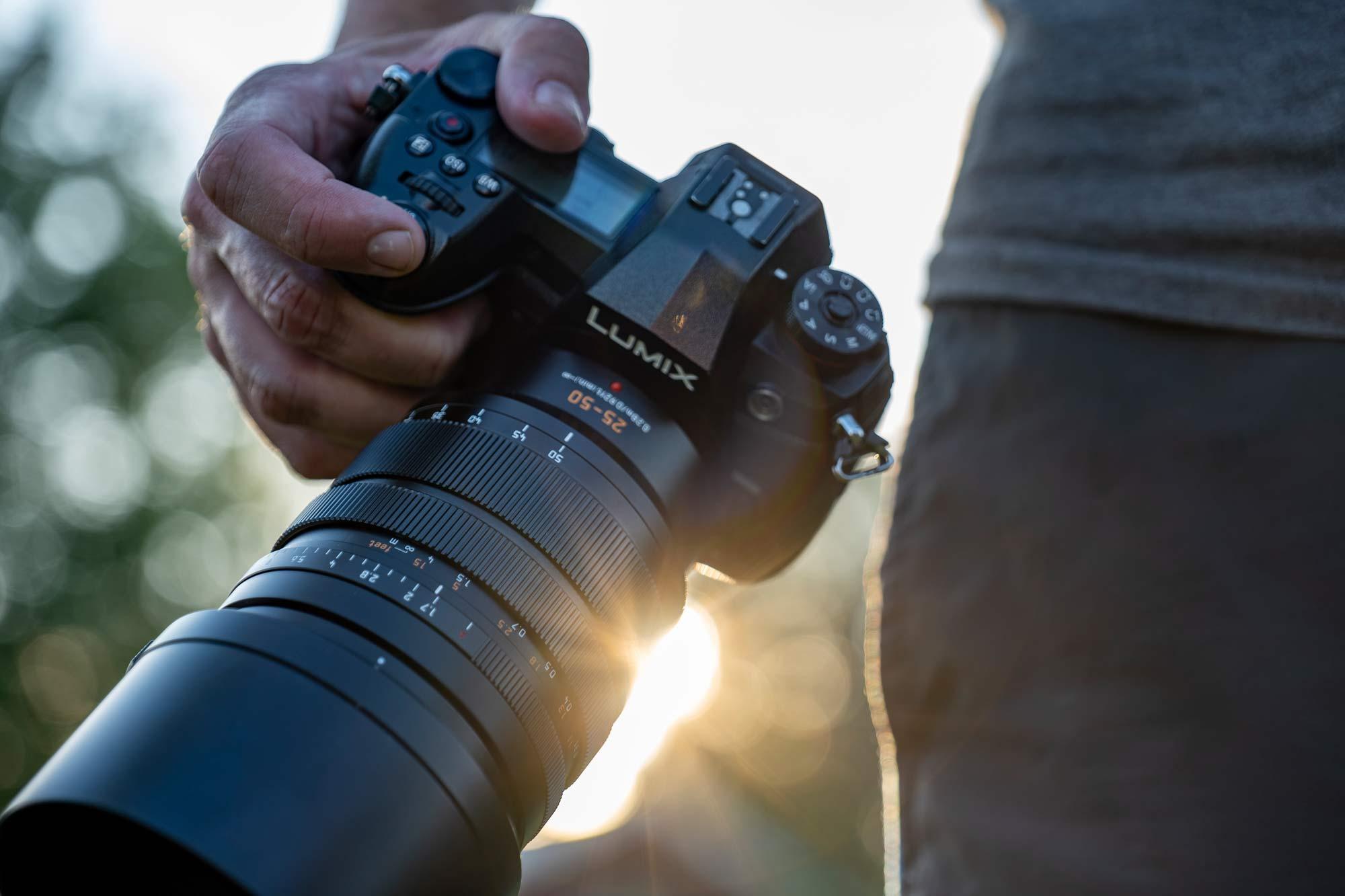 Panasonic Leica 25-50mm f/1.7 Zoomobjektiv