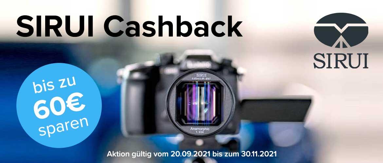 Sirui Cashback Aktion