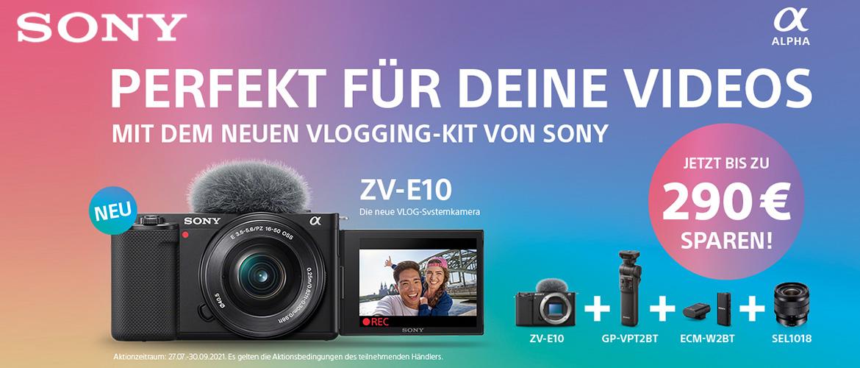 Sony ZV-E10 Aktion